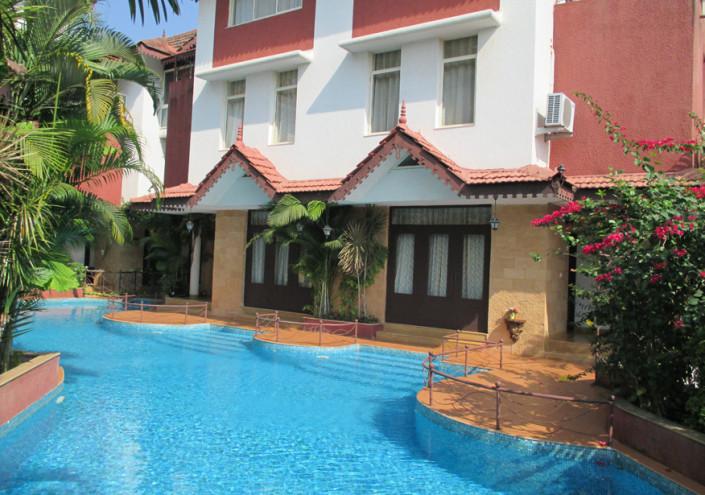 Villas on Beach in Goa