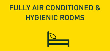 Fully Air Conditioned & Hygienic Rooms in Goa